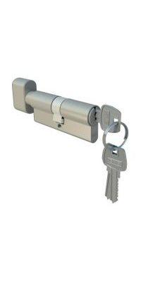 Profilinis cilindras su užsukimu(3 raktai)
