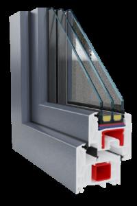 Premium klasės langai REHAU bluSYNEGO